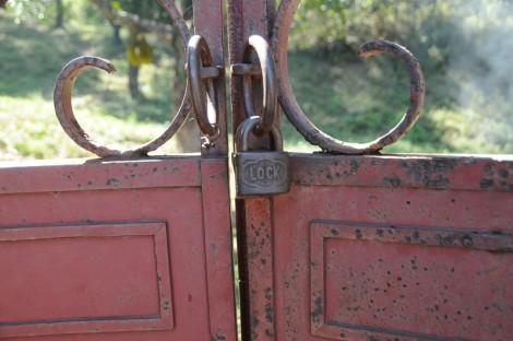 Lock on doors