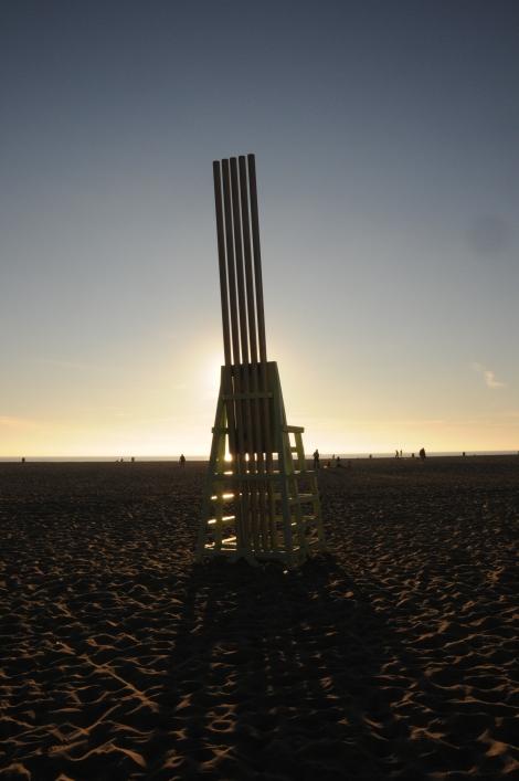 Santa Monica Beach by Kerry